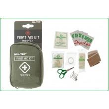 Tasca Medica Verde Kit First Aid 1 Kit Primo Soccorso Verde OD Militare MIL-TEC  Art.16025800