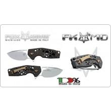 Coltello Serramanico Fox knives Maniago Vox Suru Att-FX-526 CF Back