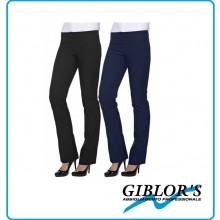 Pantalone Donna Vita Bassa Giblor's Cameriera Blu o Nero  Art. 245