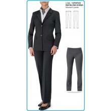 Pantaloni Donna Blu - Grigio - Nero Art.12P01P233