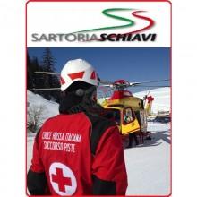 Jacket da intervento CRI soccorsi speciali Giubbino Operativo Elasticizzato Protezione Biologica Emo Plasmatex Croce Rossa Italiana Schiavi Italia Art.SS-BIOG-RN