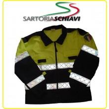 Giubbino Trattato Teflon HT Protezione Civile Schiavi Italia Art.SS-GCP