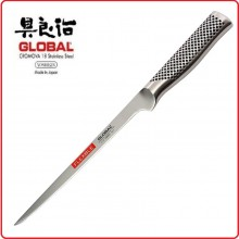 Coltello Forgiato Professionale Flessibile Sfiletto Svedese cm 21 Cuochi Chef Global Art.G-30