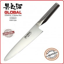 Coltello Forgiato Professionale Affettare cm 21 Cuochi Chef Global Art.G-1