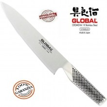 Coltello Forgiato Professionale Cucina cm 20 Cook Knife Global  G2 Art.G-2