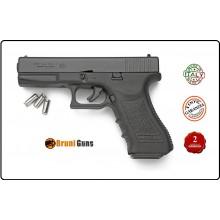 Pistola a Salve Glok 17 Nera 8 mm Bruni Prodotto Italiano Art.RP033215