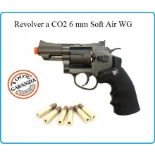 Revolver Nero Pesante CO2 Full Metal 2,5 Pollici Soft Air Libera Vendita Art.708B