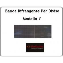 Nastro Rifrangente Reflexite GP440 Colore Argento  Modello 7 Art.SS-REF-GP440
