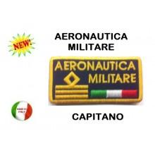 Gradi Velcro Aeronautica Militare Capitano Art.AE-01
