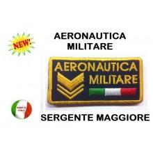 Gradi Velcro Aeronautica Militare Sergente Maggiore Art.AE-03