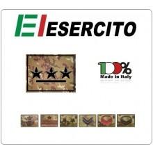 Gradi con Velcro Vegetati Esercito Italiano Scegli il Tuo Grado Art.NSD-VEG-V