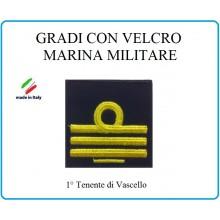 Grado a Velcro Giubbotto Navigazione Marina Militare 1 Tenente di Vascello  Art.M-23
