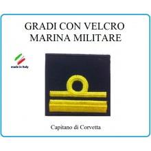 Grado a Velcro Giubbotto Navigazione Marina Militare Capitano di Corvetta  Art.M-20