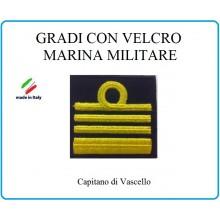 Grado a Velcro Giubbotto Navigazione Marina Militare Capitano di Vascello  Art.M-22