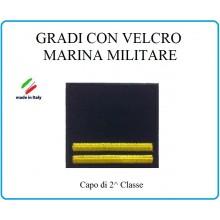 Grado a Velcro Giubbotto Navigazione Marina Militare Capo 2 Classe  Art.M-12