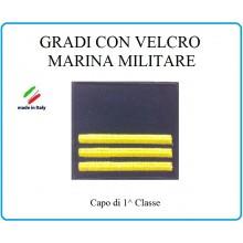 Grado a Velcro Giubbotto Navigazione Marina Militare Capo 1 Classe  Art.M-13