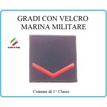 Grado a Velcro Giubbotto Navigazione Marina Militare Comune di 1 Classe Art.M-2