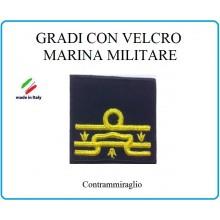Grado a Velcro Giubbotto Navigazione Marina Militare Contrammiraglio  Art.M-24