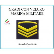 Grado a Velcro Giubbotto Navigazione Marina Militare Secondo Capo Selto  Art.M-10