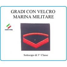 Grado a Velcro Giubbotto Navigazione Marina Militare Sottocapo di 3 C.  Art.M-4