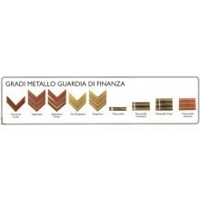 Gradi Metallo Vendita in Coppia Guardia di Finanza Scegli il Tuo Grado VENDITA RISERVATA Art.NSD-GDF-MET