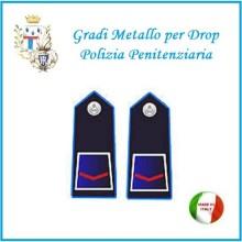 Gradi Metallo Polizia Penitenziaria per Drop Agente Scelto  Art.PP-2