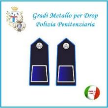 Gradi Metallo Polizia Penitenziaria per Drop Agente Art.PP-1