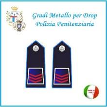 Gradi Metallo Polizia Penitenziaria per Drop Assistente Capo Art.PP-4