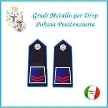 Gradi Metallo Polizia Penitenziaria per Drop Assistente  Art.PP-3