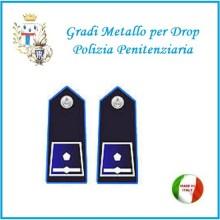 Gradi Metallo Polizia Penitenziaria per Drop Ispettore Superiore  Art.PP-12