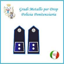Gradi Metallo Polizia Penitenziaria per Drop Ispettore Art.PP-10