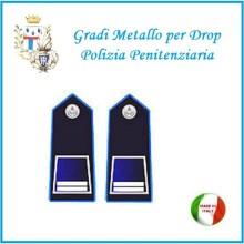 Gradi Metallo Polizia Penitenziaria per Drop Sovraintendente Art.PP-6
