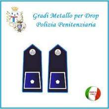 Gradi Metallo Polizia Penitenziaria per Drop Vice Ispettore Art.PP-9