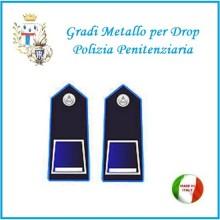 Gradi Metallo Polizia Penitenziaria per Drop Vice Sovraintendente Art.PP-5
