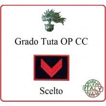 Gradi Tuta Ordine Pubblico Carabinieri con Velcro CARABINIERE SCELTO  Art.CC-O3
