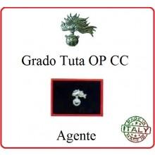 Gradi Tuta Ordine Pubblico Carabinieri con Velcro Carabiniere  Art.CC-O2
