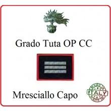 Gradi Tuta Ordine Pubblico Carabinieri con Velcro MARESCIALLO CAPO Art.CC-O11