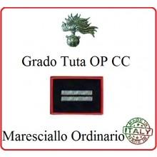 Gradi Tuta Ordine Pubblico Carabinieri con Velcro MARESCIALLO ORDINARIO Art.CC-O10