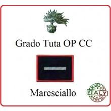 Gradi Tuta Ordine Pubblico Carabinieri con Velcro MARESCIALLO Art.CC-O9