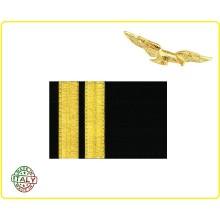 Coppia di Gradi Pilota di Prima Aeronautica Civile Art.NSD-CIV2