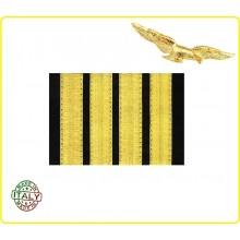 Coppia di Gradi Comandante Aeronautica Civile Art.NSD-CIV4