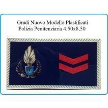 Gradi Plastificati Tuta Ordine Pubblico Polizia Penitenziaria Assistente Art.PP-NEW-2