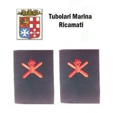 Gradi Tubolari Ricamati Marina Militare Italiana Armaiolo  Art.MM-3