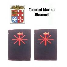Gradi Tubolari Ricamati Marina Militare Italiana Elettricista Art.MM-8