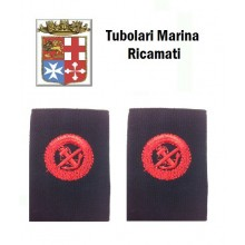 Gradi Tubolari Ricamati Marina Militare Italiana Incursore  Art.MM-2
