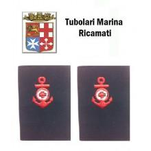 Gradi Tubolari Ricamati Marina Militare Italiana Infermiere Art.MM-5