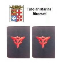Gradi Tubolari Ricamati Marina Militare Italiana Motorista  Art.MM-1