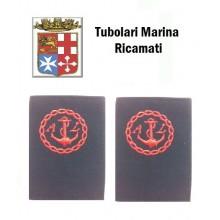 Gradi Tubolari Ricamati Marina Militare Italiana S.A.L. Art.MM-6