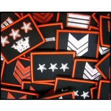 Gradi Tuta Ordine Pubblico Carabinieri con Velcro Scegli il tuo Grado..  Art.CC-O1