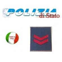 Gradi Tuta Ordine Pubblico Polizia di Stato Assistente  Art.PS-OP2